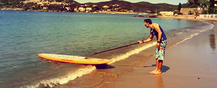 Trick sup paddle